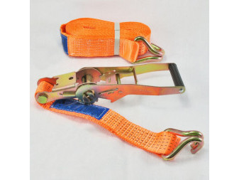 LASHING BELT 5t/2m WITH HOOK AND RATCHET