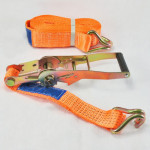 LASHING BELT 5t/4m WITH HOOK AND RATCHET