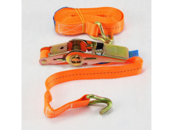 LASHING BELT 1t/8m WITH HOOK AND RATCHET